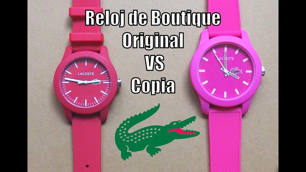 f0321f4b2c44 Reloj Boutique Original Vs Copia (Y como identificarla) - YouTube