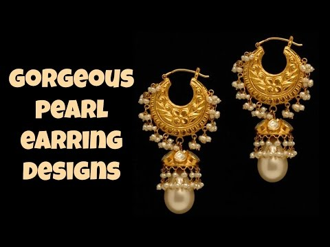Gorgeous Pearl Earring Designs
