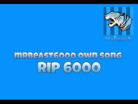MrBeast6000 Song (Lyrics Video)
