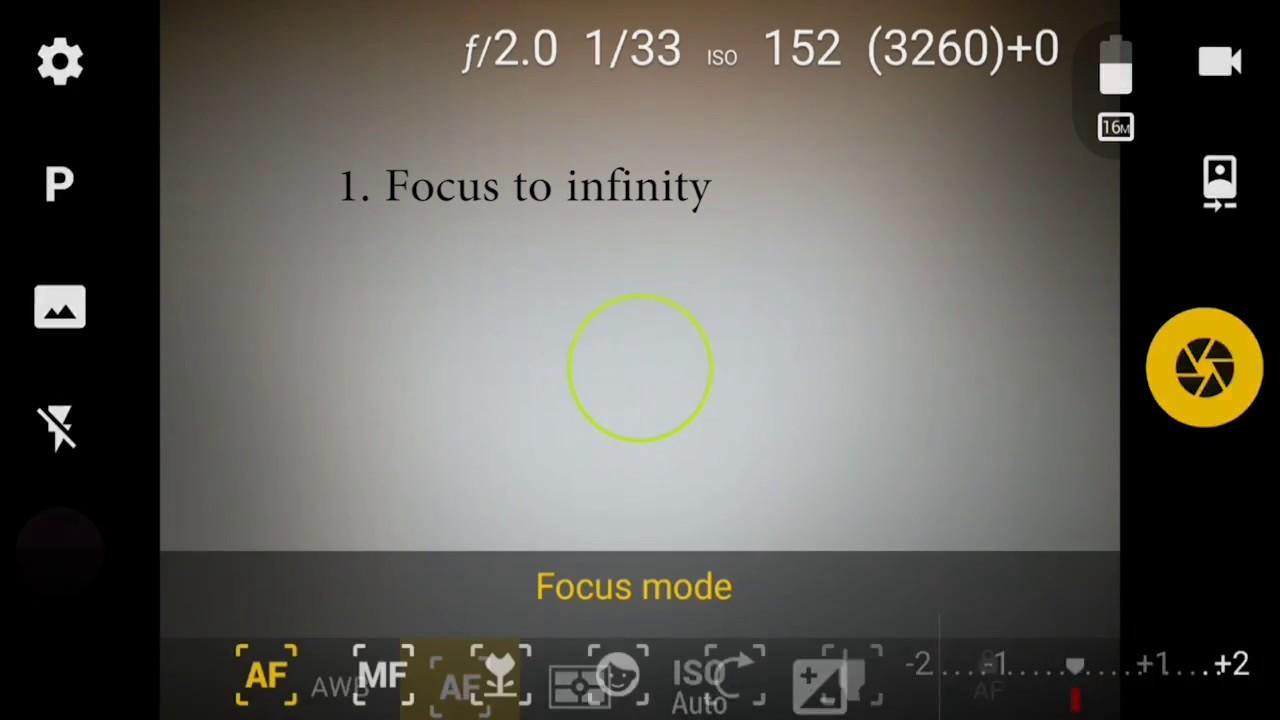 Exposure Bracketing Setting For On Camera Fv 5 Youtube