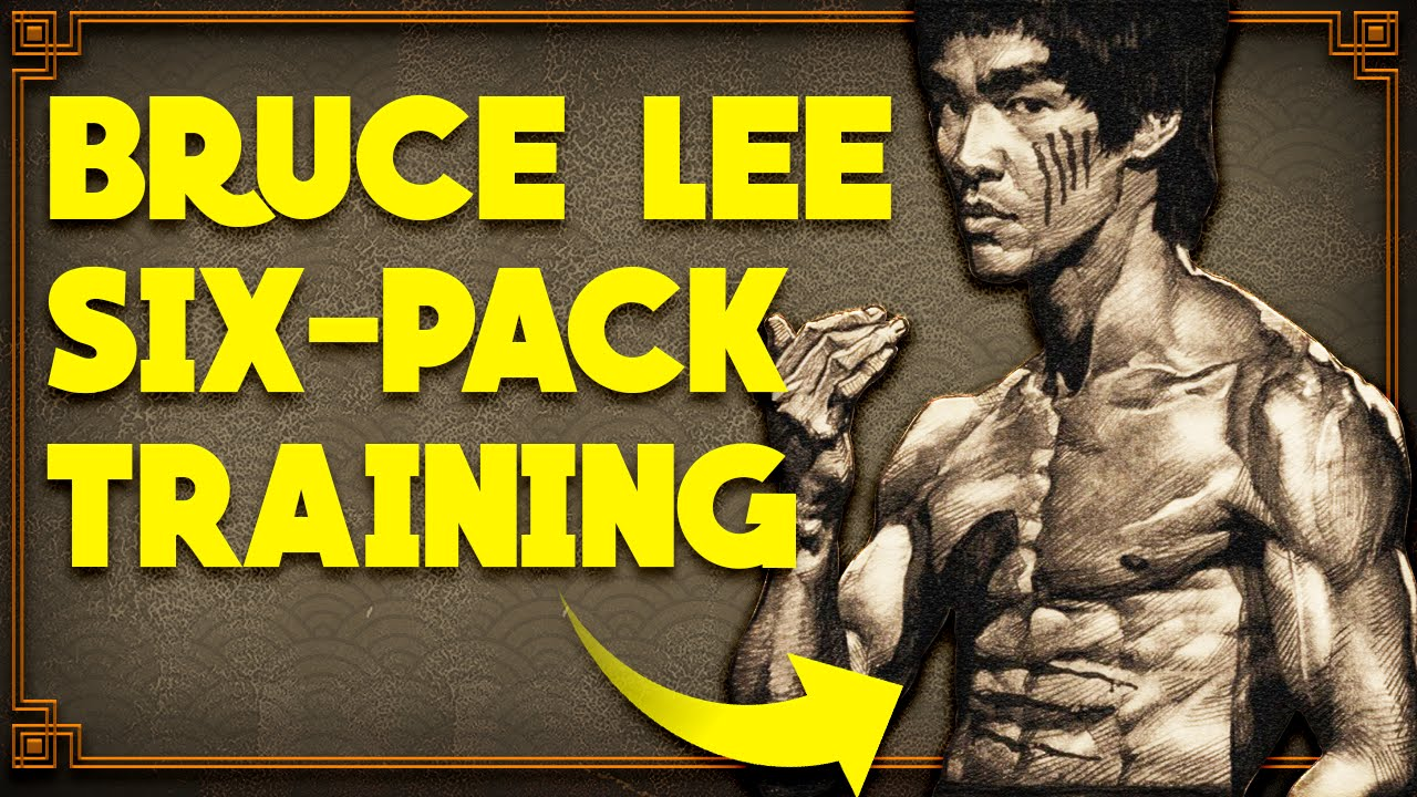 Bruce Lee Six Pack Training Bruce Lee 6pack Workout Youtube
