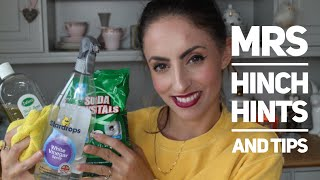 mrs hinch hints and tips cleaning must haves