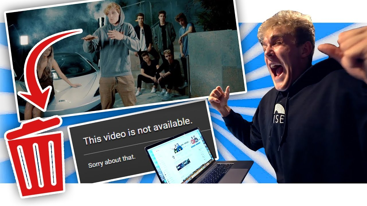 """I DELETED """"The Fall Of Jake Paul"""" OFF LOGANS CHANNEL!!"""