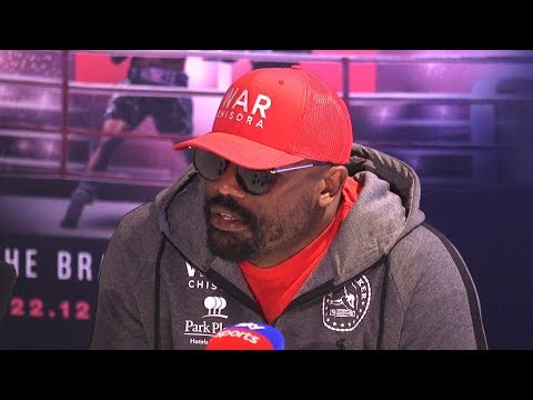 Dereck Chisora Post-Fight Press Conference After Losing To Dillian Whyte