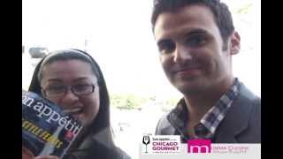 Interview with Bon Appetit Magazine Restaurant Editor, Andrew Knowlton at Chicago Gourmet 2012
