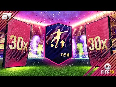 30 81+ GOLD UPGRADE PLUS SBC PACKS! | FIFA 18 ULTIMATE TEAM!