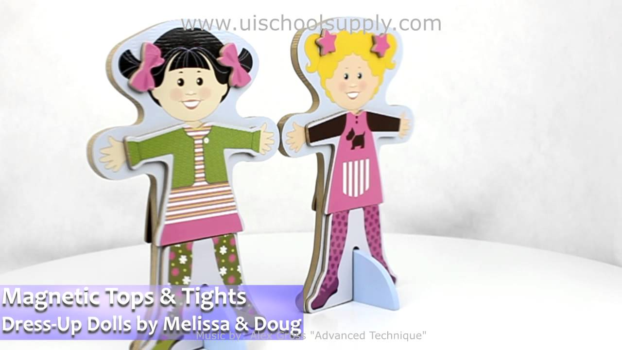 TOPS /& TIGHTS Magnetic Dress-Up Set 4943~ Melissa /& and Doug