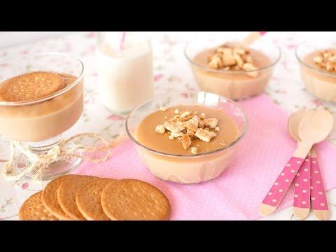 Crema de Galletas María y Caramelo
