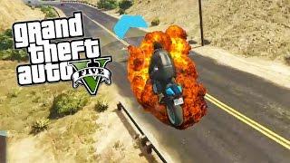 FORT ZANCUDO POLICE GETAWAY RACE! (GTA 5 Funny Moments)