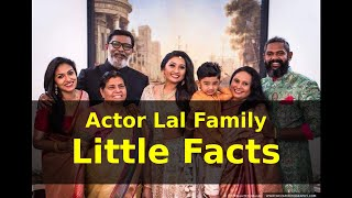 Gambar cover Actor Lal Family Photos and Little Known Facts |Popglitz | Jean Paul Lal Jr. Monica Lal