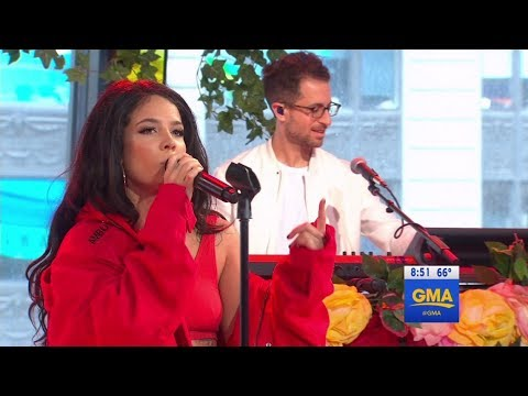 Halsey - Bad At Love Good Morning America
