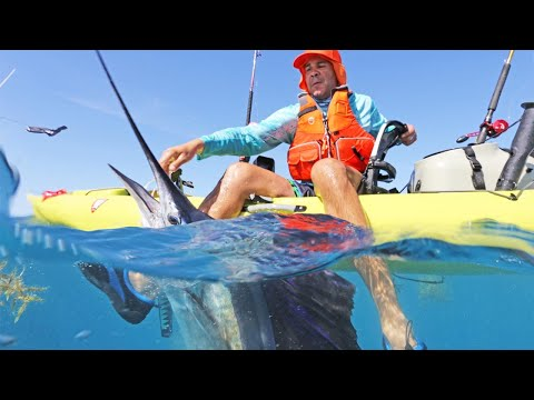 FOUR SAILFISH Landed On A KAYAK In ONE DAY! RAW H2O PODCAST.