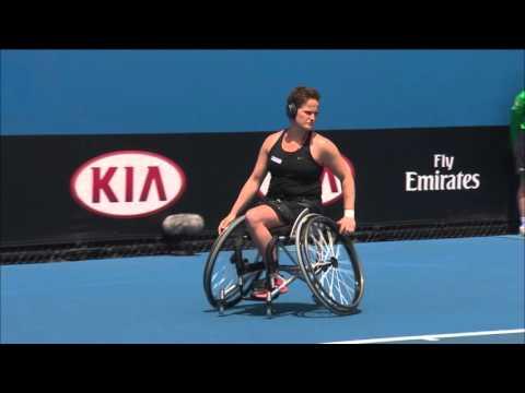 Women's Wheelchair Singles Championship   Australian Open 2016 - Griffioen v Van Koot