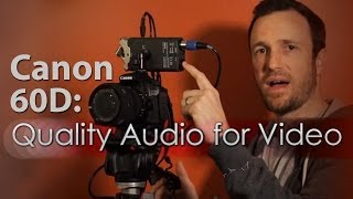 Canon 60D Setup - Quality Audio for Video(See a list of all the gear used in this video at http://podhelp.me/tpsgear This is a video which shows how I get quality sounding audio into my Canon 60D ..., 2011-03-21T01:27:15.000Z)