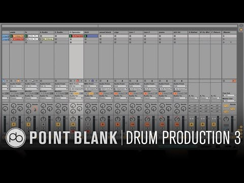 Drum Production & Sound Design in Ableton Live Part 3: Grouping & Mixing
