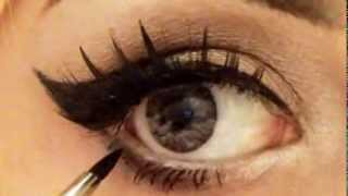 Bold eyeliner tutorial Thumbnail