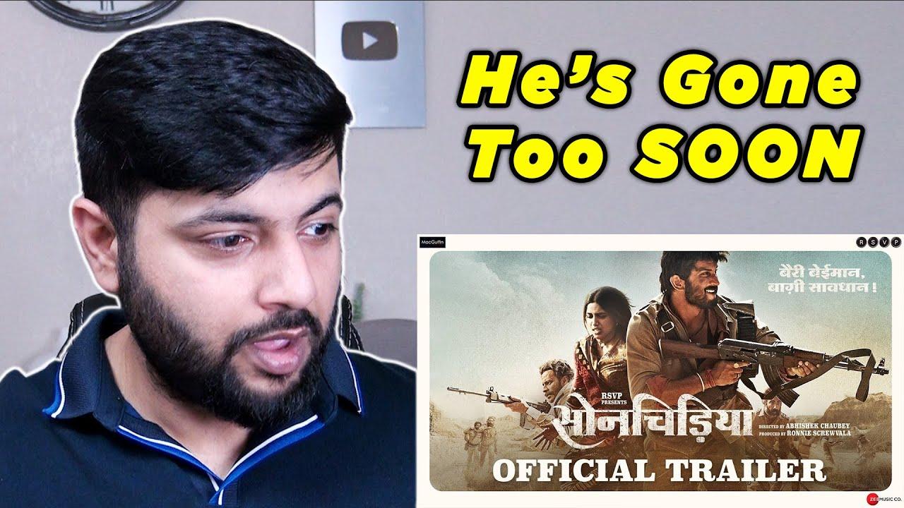 Pakistani Reacts to Sonchiriya   Official Trailer   Sushant, Bhumi P, Manoj B, Ranvir S  