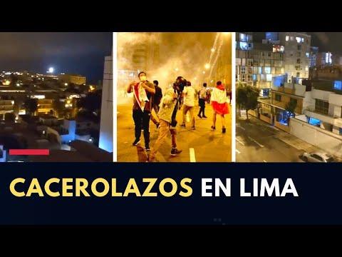 Protestas en Perú: