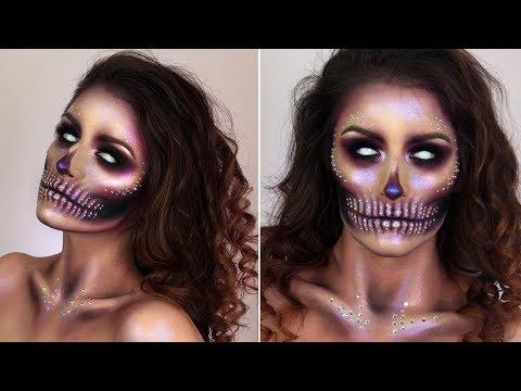 Glam Skull Make up Tutorial