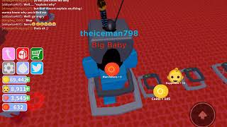 Roblox Baby Simulator becoming The Biggest Baby