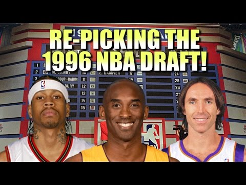 Re-Picking the 1996 NBA Draft!