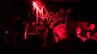 "Mayhem Live at One Eyed Jacks, New Orleans ""Whore"""