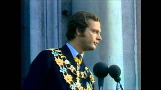 Sång efter H.M Carl XVI Gustafs kröning