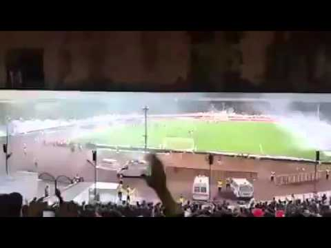 Racist azeri panturks chanting death to Persians/Pars at Perspolis/tractor game