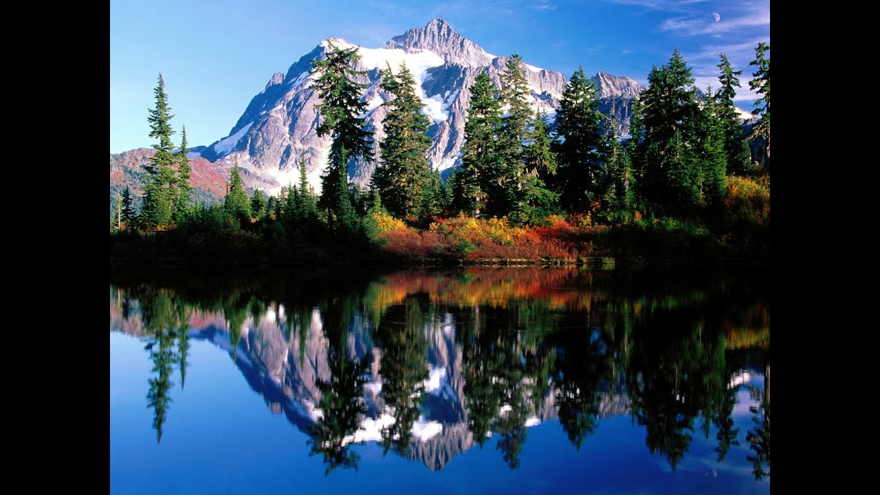 Beautiful Mountains Scenery To Alaska Landscapes Calm