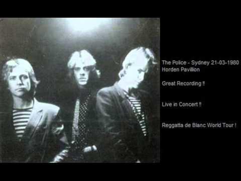 THE POLICE - Sydney 21-03-1980 Harden Pavillion
