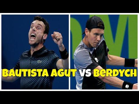 Roberto Bautista Agut Vs Tomas Berdych   FINAL Doha 2019 Highlights HD
