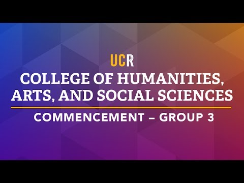 2017 UCR College of Humanities, Arts, and Social Sciences Co
