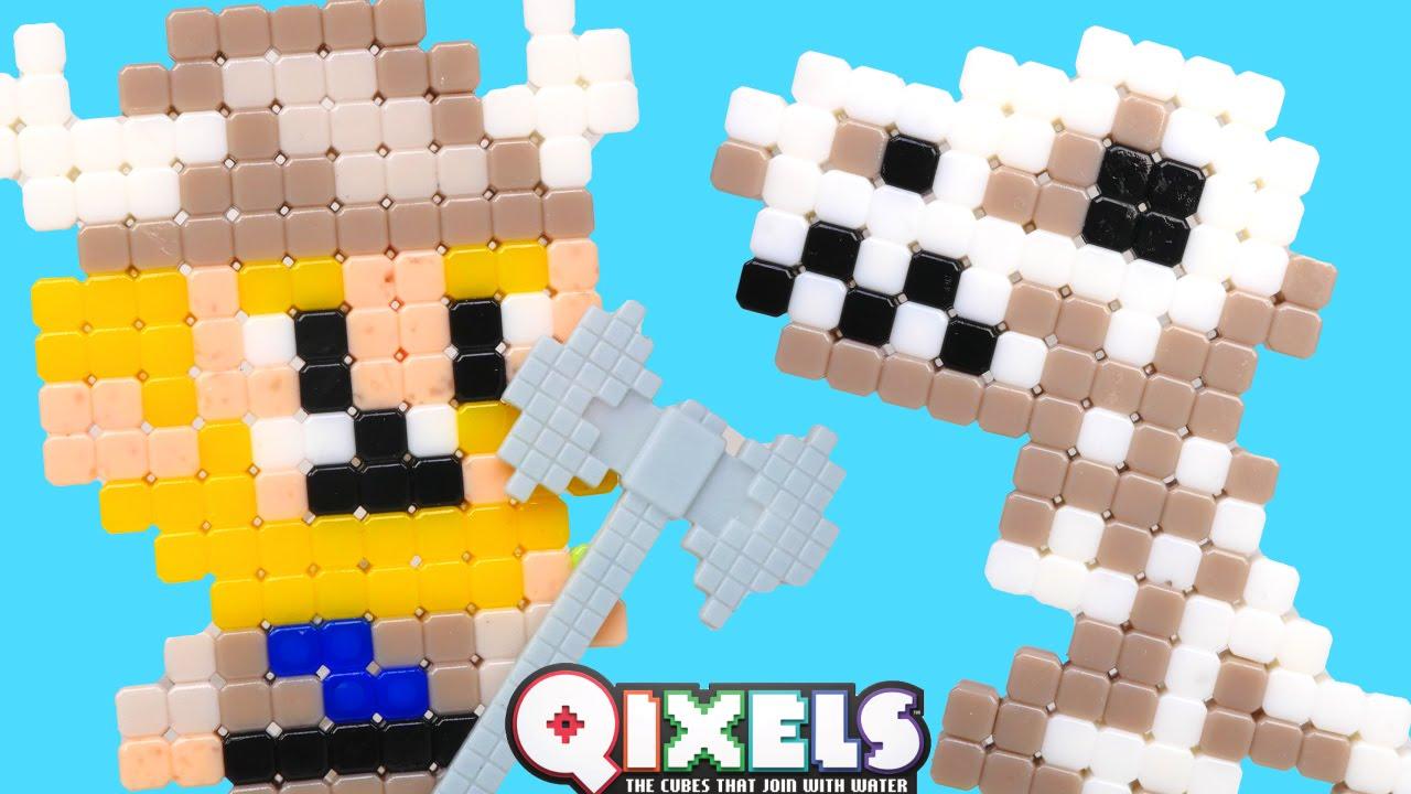 Qixels Secadora Turbo ⭐ Plantillas de Personajes Increibles Nuevo ...