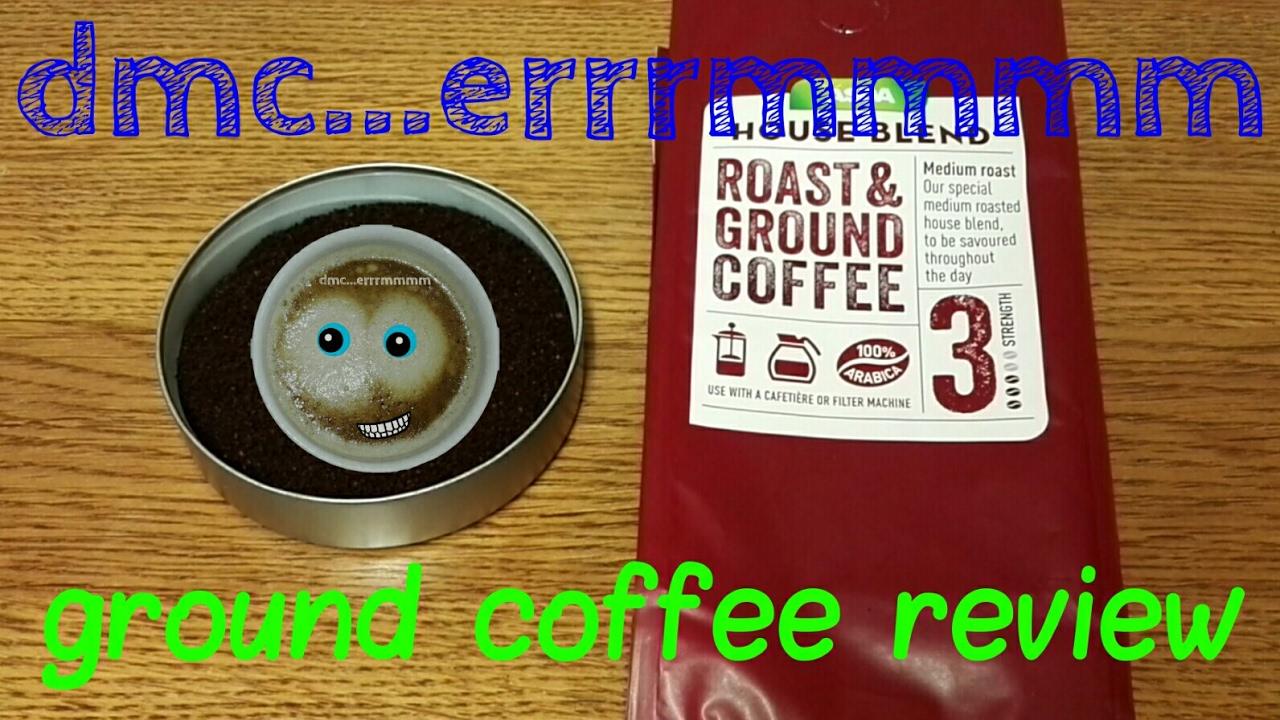 Asdas House Blend Roast Ground Coffee Review