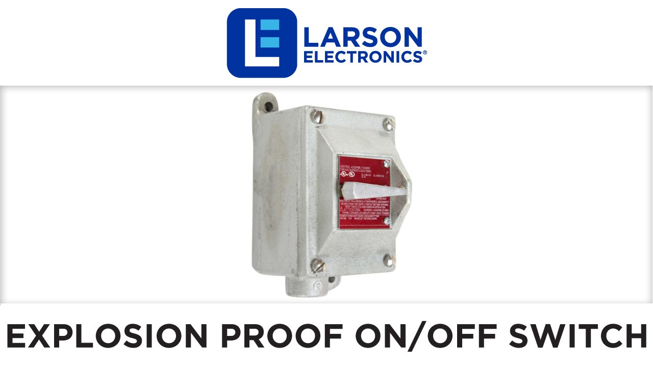 Explosion proof on off switch class i div 1 2 for Class 1 div 2 motor disconnect switch