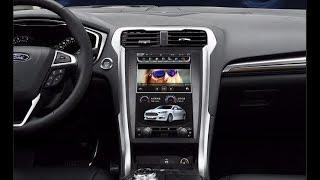 "Штатная магнитола в стиле Tesla Ford Mondeo (2013-18) 12"" 2 GB RAM TFM-18"