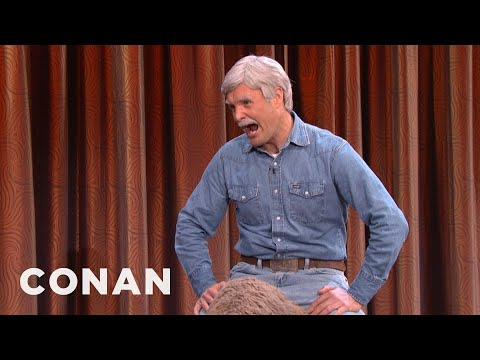 Ted Turner Brings Warm Birthday Wishes - CONAN on TBS