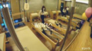[운동/필라테스] 필라테스 Part 1. 왕초보 입문자…