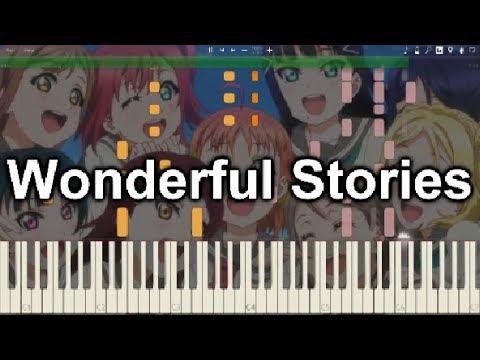 【ラブライブ!サンシャイン!!2期】「Wonderful Stories」ピアノでアレンジしてみた。【Aqours】