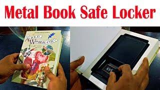 Metal Book Safe Locker | SECRET LOCKER