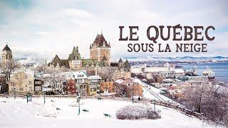 Le Québec sous la neige - Échappées belles