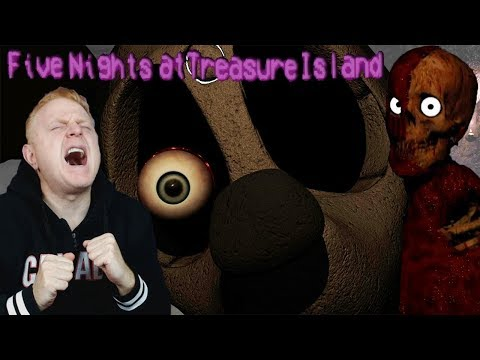 MINNIE LOVES ME TO DEATH | FIVE NIGHTS AT TREASURE ISLAND ( 2017 EDITION ) NIGHT 3 + PIRATE CAVERNS