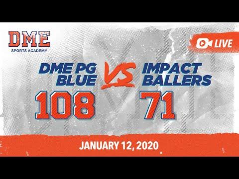 DME Blue vs Impact Ballers