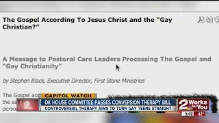 OK House committee passes conversion therapy bill