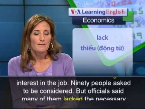 Anh ngữ đặc biệt  South Africa jobs and skills VOA