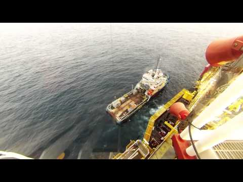 Crane to Boat Operations from/ to FPSO