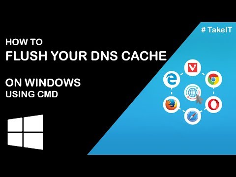 How to Flush DNS Cache using CMD on Windows | TakeIT