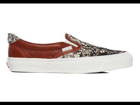 ba0c1cfcd5 Shoe Review  Vans Vault Originals  Premium Leather   Pony Hair  OG Slip-On  59 LX (Pony)