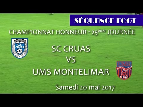 Sequence Foot DH   Cruas vs Montélimar 20 05 2017