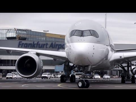 Inaugural Flight of the Qatar Airways Airbus A350 to Frankfurt
